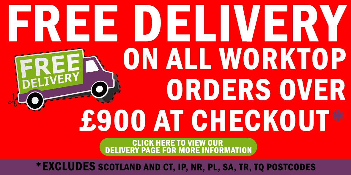 FREE DELIVERY ONLINE WORKTOPS