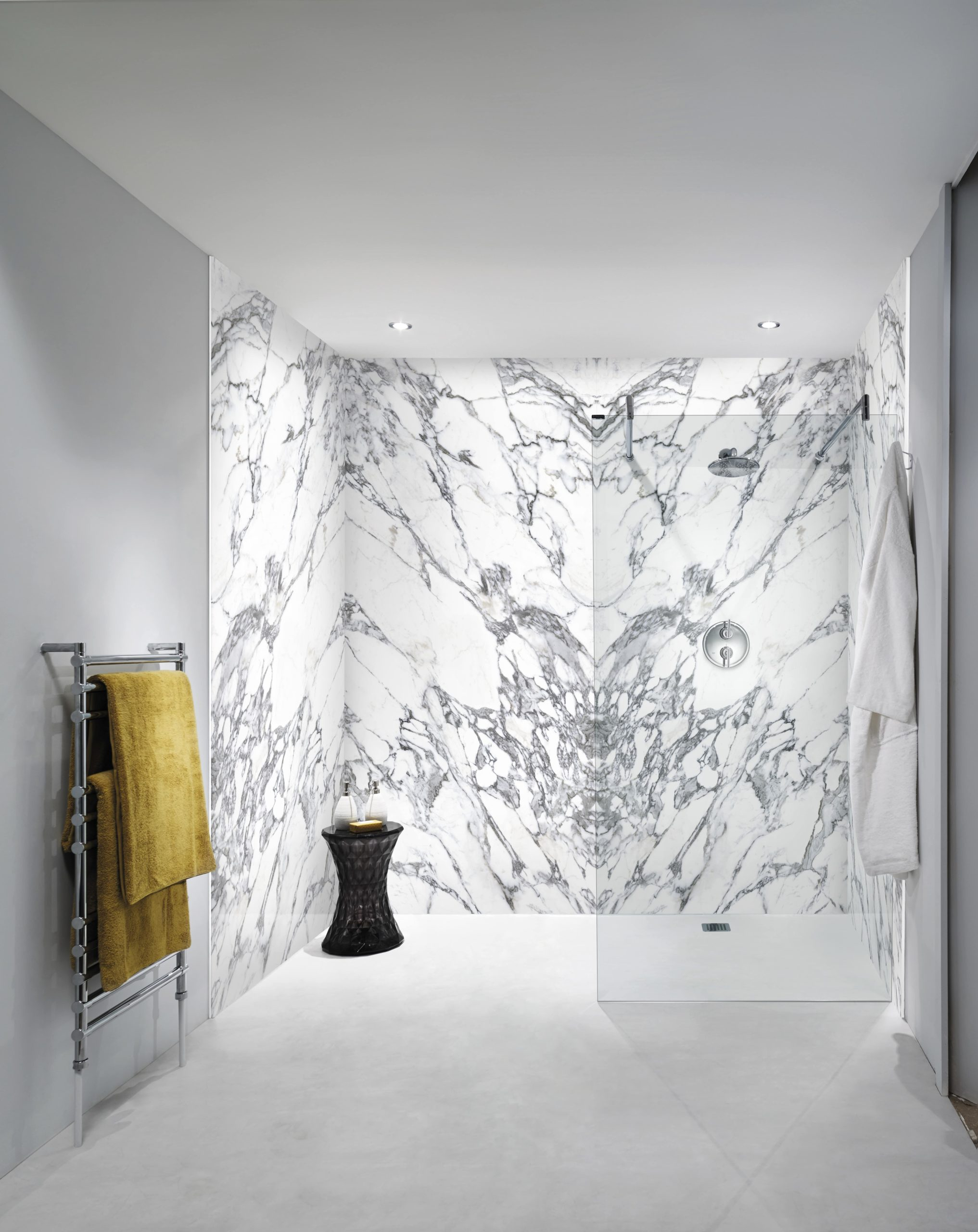 Nuance Carrara Marble Panels
