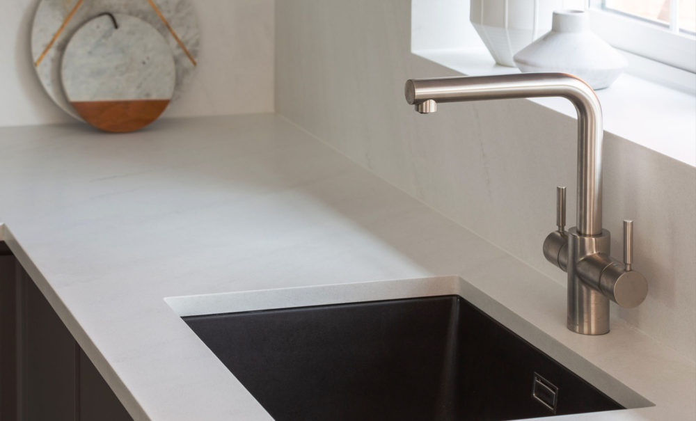 Mistral Aria Solid Surface Enhanced Acrylic Worktops