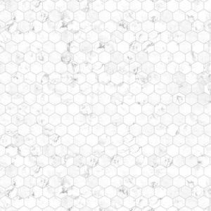 Nuance Hexagon Marble Laminate Bathroom & Shower Panels