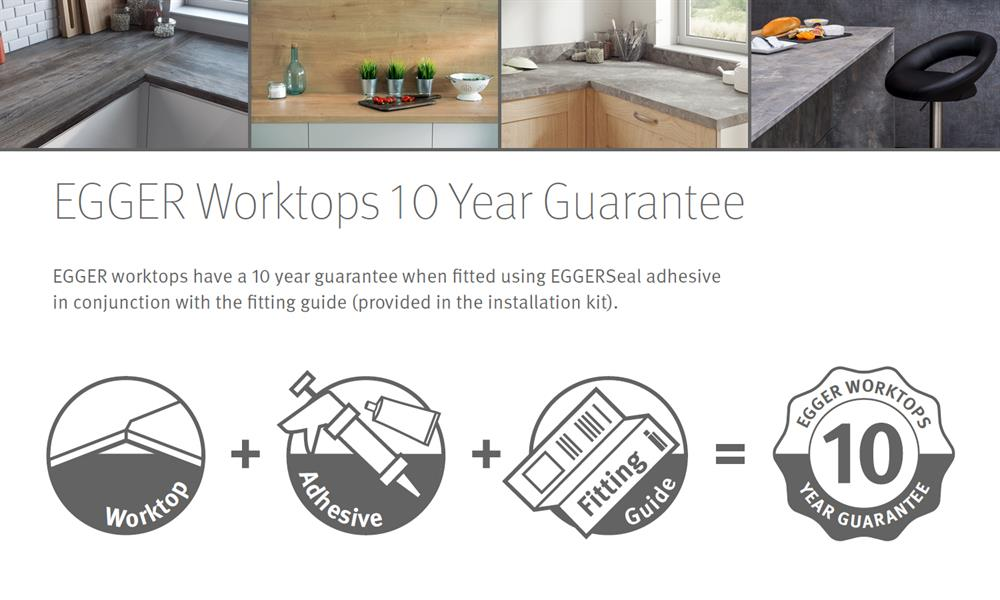 Egger 10 year guarantee