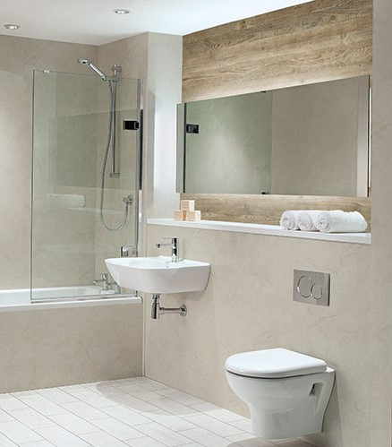 Nuance Alabaster Bathroom