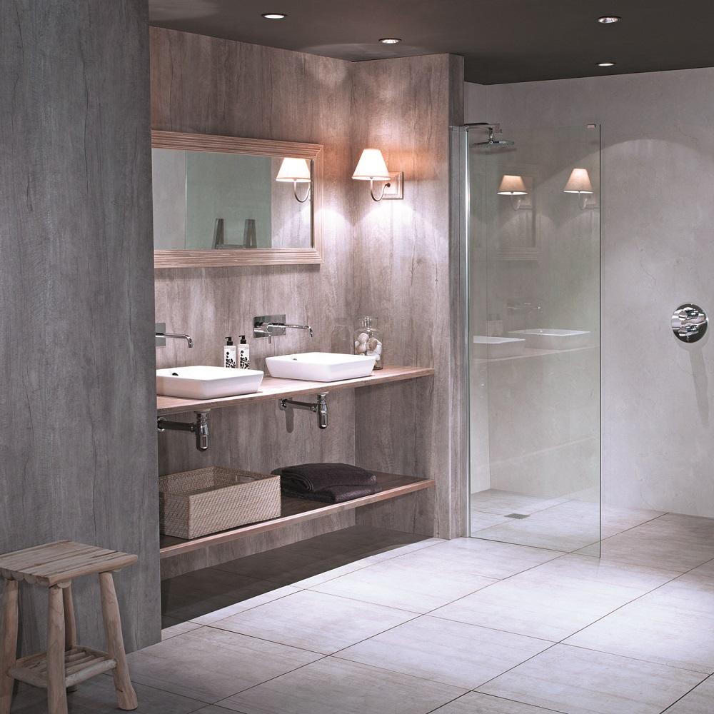 Nuance Driftwood Bathroom