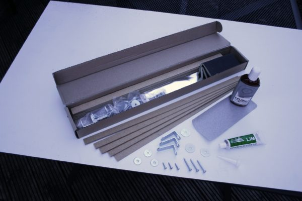 Real Wood Installation Kit