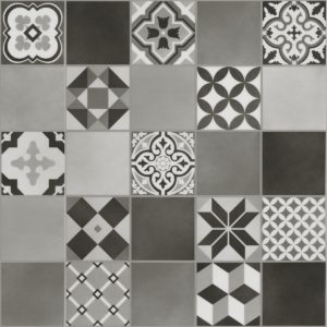 Malmo Kuvio Grey - Stickdown Tile