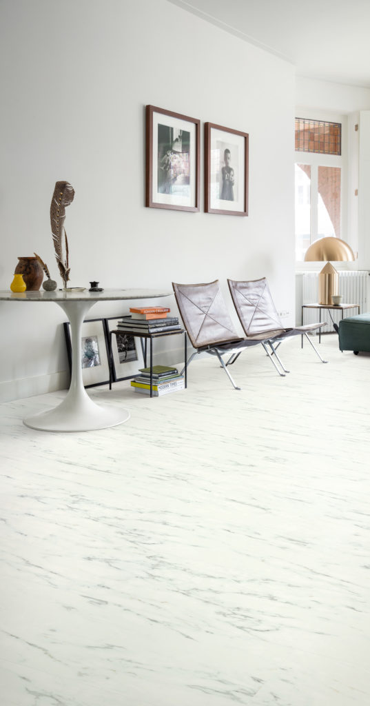 Quickstep Ambient Marble Carrara White Lifestyle